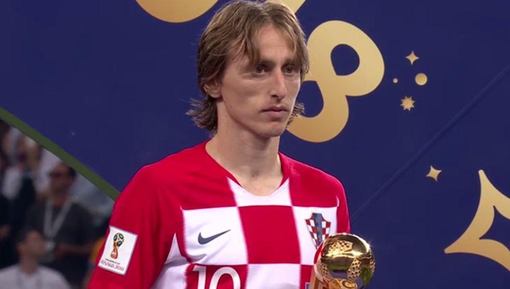 Modric, Balón de Oro a mejor jugador de Rusia 2018