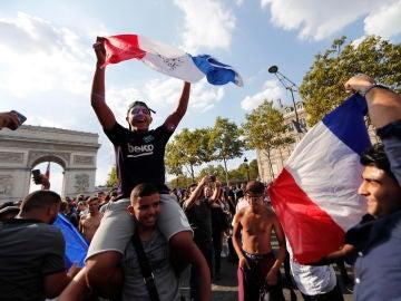 Euforia francesa en París