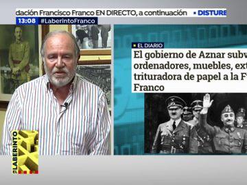 """Presidente de la Fundación de Francisco Franco: """"Solo hemos recibido subvenciones por parte del gobierno de Aznar"""""""
