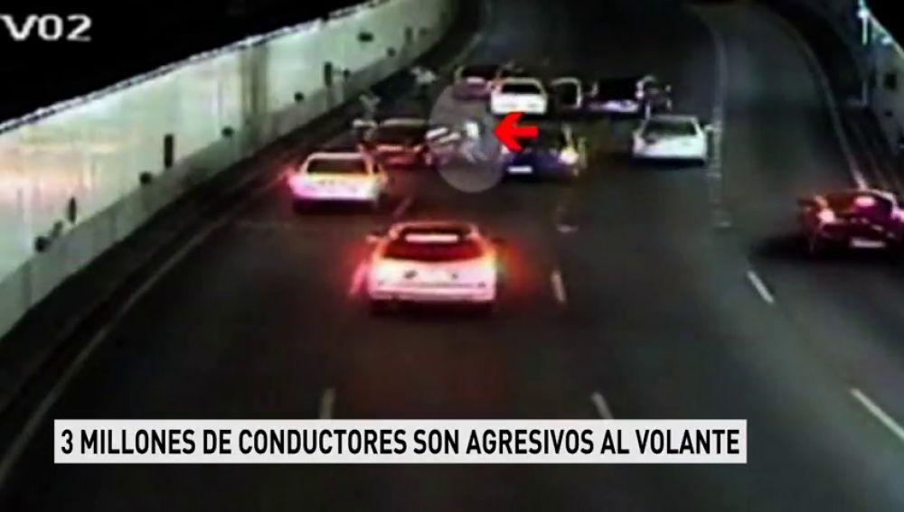 """Más de cien mil conductores son auténticos """"violentos al volante"""", reconocen haber causado directamente un accidente de tráfico"""