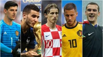 ¿Cuál es el mejor once del Mundial?
