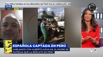 """El padre de Patricia Aguilar: """"Nunca pensamos que tras la pantalla un chico quería engañar a nuestra hija a 10.000 kilómetros"""""""
