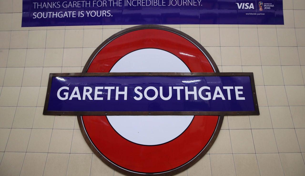 Estación de metro Gareth Southgate