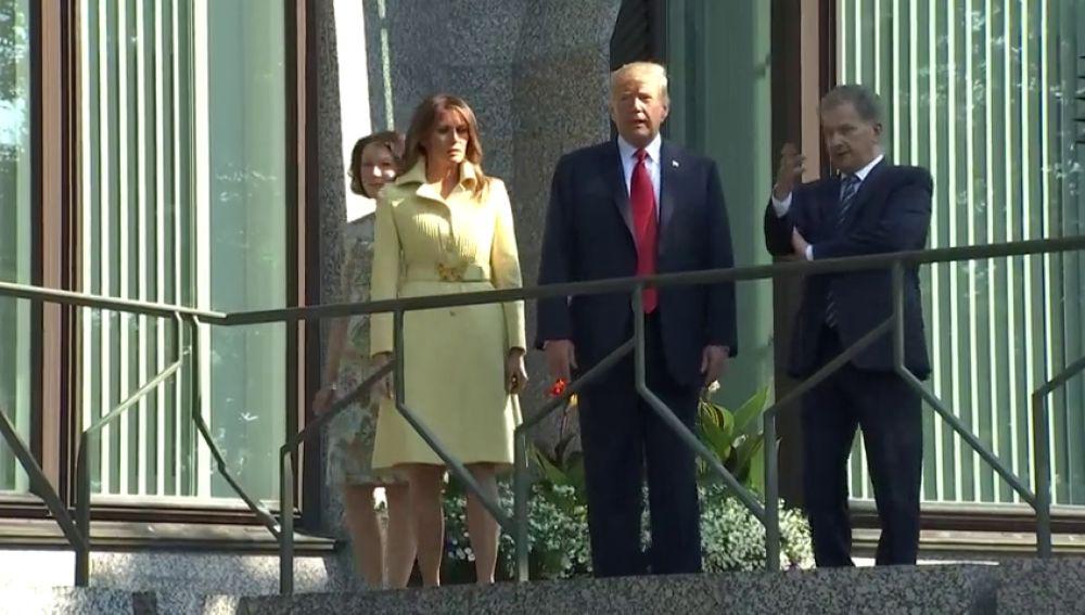 Trump visita Helsinki