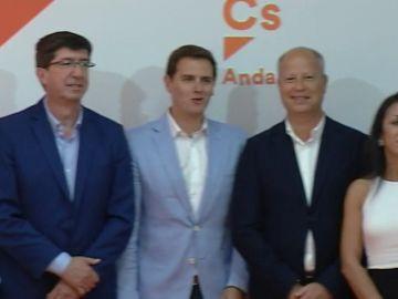 Ciudadanos repite candidato en Andalucía
