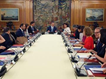 El Rey Felipe VI, preside la reunión del Consejo de Seguridad Nacional
