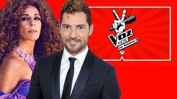 Rosario y David Bisbal, coach confirmados de 'La Voz Kids'