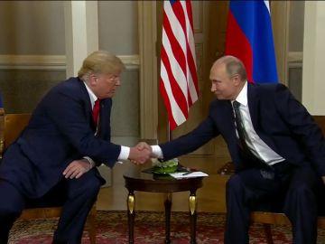 Comienza la primera cumbre formal entre Trump y Putin en Helsinki