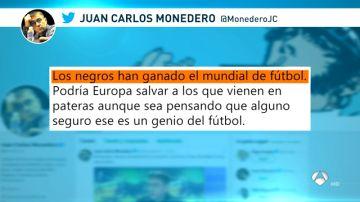 Tuit de Juan Carlos Monedero
