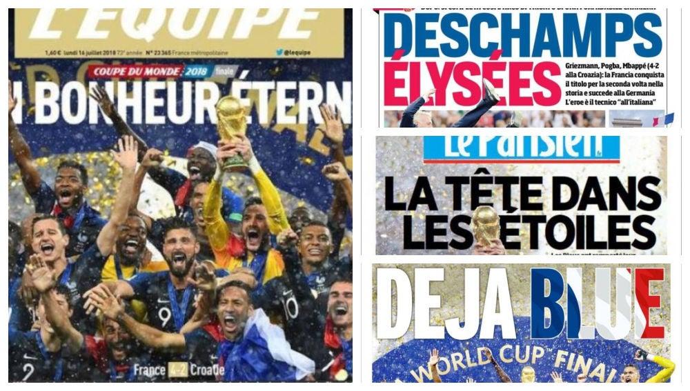 Portadas Francia Mundial
