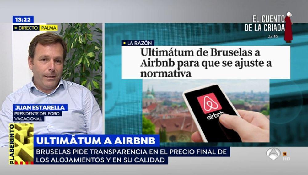 Bruselas da un ultimátum a Airbnb para que cumpla la normativa europea de consumidores