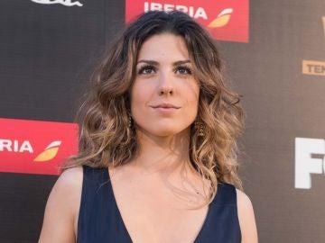 Miriam Rodríguez en la presentación de 'Vis a vis'