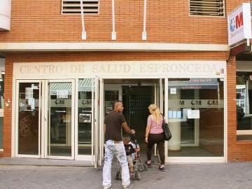 Imagen de un centro de salud en Madrid
