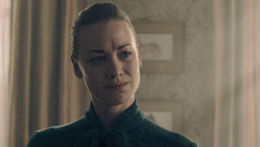 Yvonne Strahovski en 'El cuento de la criada'