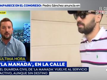 Defensa permite al guardia civil de 'La Manada' reincorporarse al servicio y cobrar su sueldo base