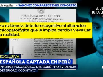 """EXCLUSIVA: El informe psicológico del gurú que capto a Patricia Aguilar: """"está completamente cuerdo"""""""