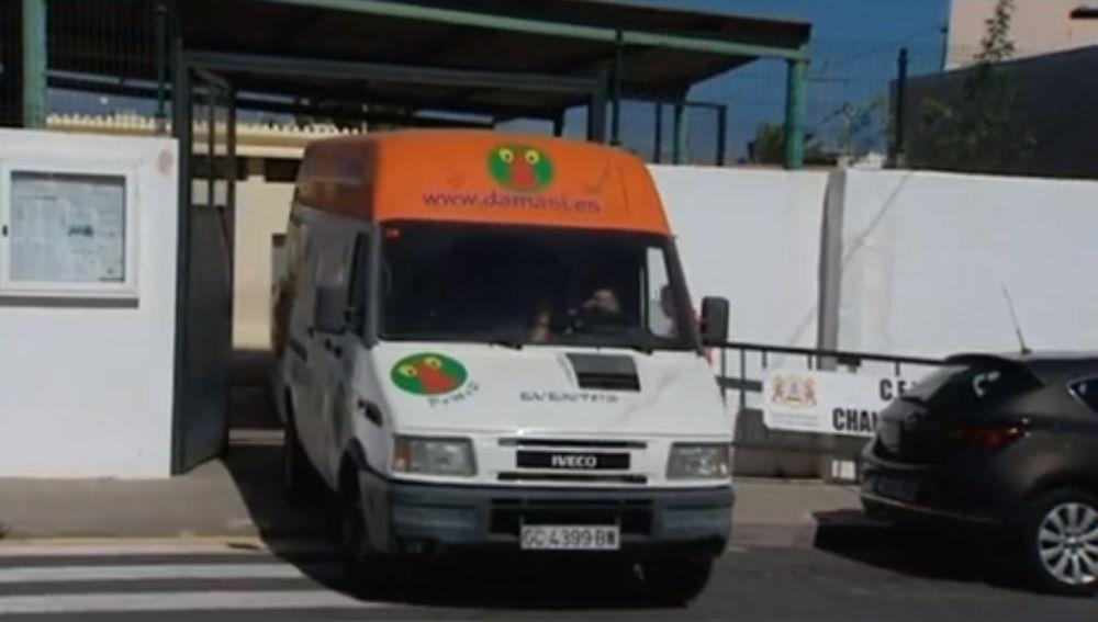 Una ambulancia de Canarias