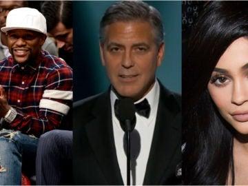 Los tres famosos mejor pagados según Forbes
