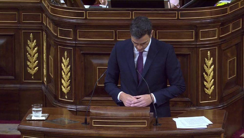 Pedro Sánchez propone prohibir por ley las aministías fiscales y promete no subir los impuestos a clases trabajadoras