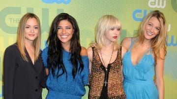 Las protagonistas de 'Gossip Girl'