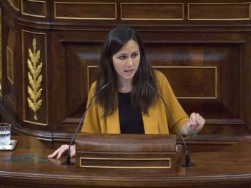 Ione Belarra en el Congreso