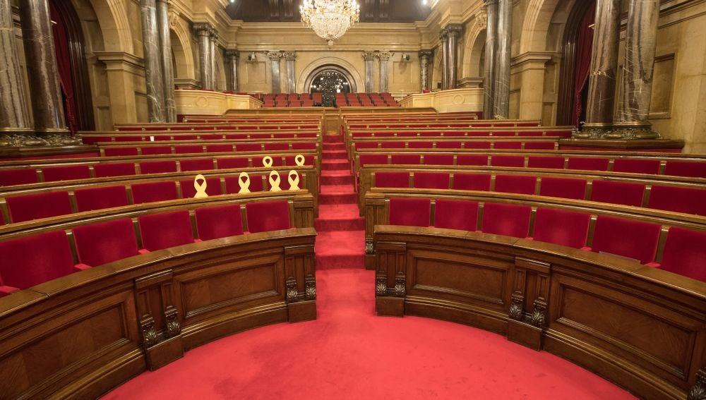 El Parlament vacío