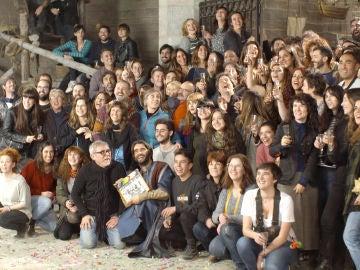 Los mensajes de despedida de los actores y el equipo de 'La Catedral del Mar'