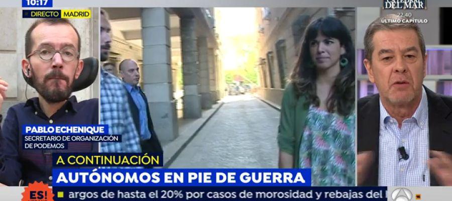 Antena 3 tv v deo pablo echenique insulta a dos for Antena 3 espejo publico hoy