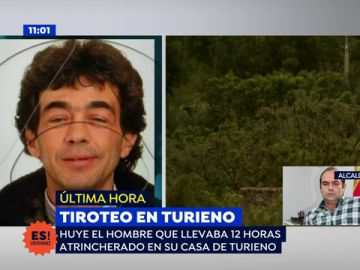 """El alcalde de Turieno, sobre el fugitivo que estuvo atrincherado: """"Esperemos que no se tope con nadie y líe una gorda"""""""