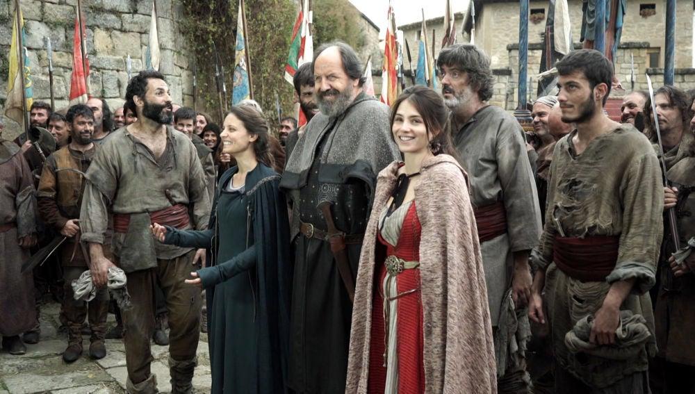Así han vivido los actores de 'La Catedral del Mar' el final de la serie