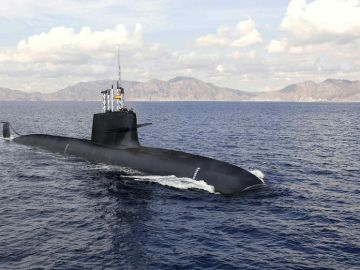 Recreación de un submarino S-80 Plus