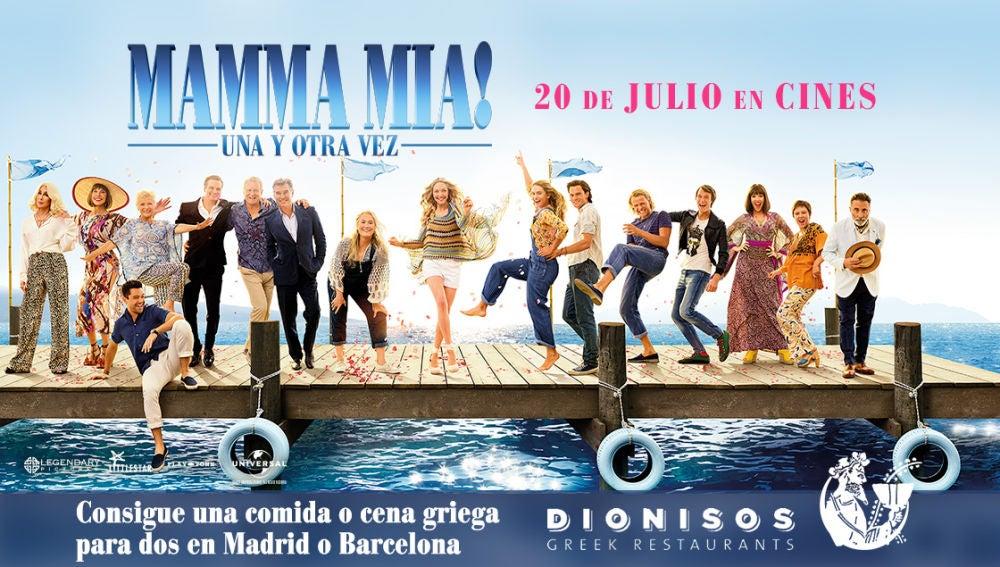 Concurso 'Mamma Mia! Una y otra vez'