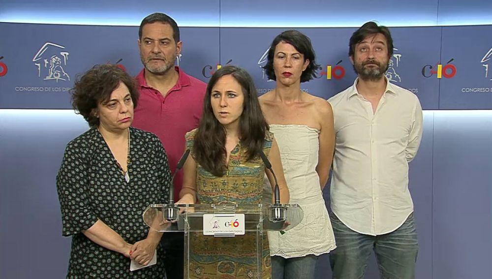 Podemos presiona a Sánchez con una iniciativa en el Congreso para que publique los nombres de la amnistía fiscal