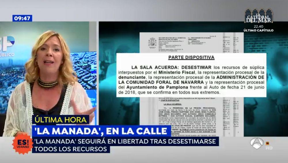 Los miembros de 'La Manada' seguirán en libertad pese a los recursos interpuestos tras el incidente del pasaporte