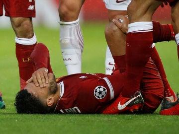 Chamberlain lesionado ante la Roma