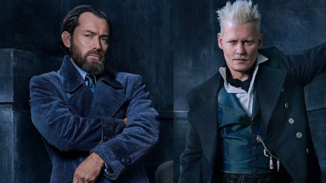 Jude Law y Johnny Depp en 'Animales Fantásticos 2'