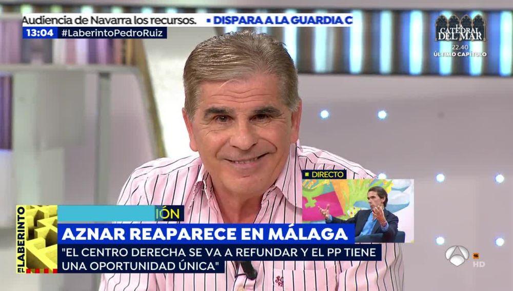 """Pedro Ruiz: """"Los políticos han construido un país donde da pereza amanecer"""""""
