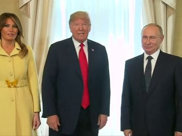 ¿Qué ocurrió entre Melania Trump y Vladimir Putin para que la primera dama reaccionase así?
