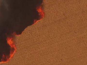 Los incendios en Oregon dejan un muerto y campos de cultivo arrasados