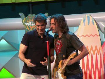 """El dueto de Jorge y Joaquín con """"El venao"""" en 'La ruleta de la suerte'"""