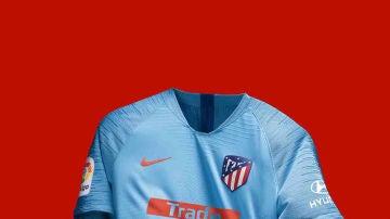 La segunda camiseta del Atlético para la próxima temporada