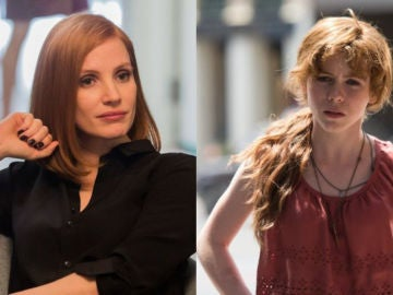 Beverly, el personaje interpretado por Jessica Chastain y Sophie Lillis en 'It'