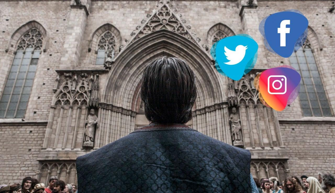 Los actores de 'La Catedral del Mar' se despiden de la serie con estos emotivos mensajes en las redes sociales
