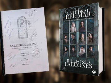 Participa aquí para conseguir el último guion de 'La Catedral del Mar' firmado por los actores