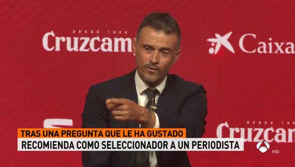 """Luis Enrique: """"Me siento orgulloso de ser gijonés, asturiano, español y también catalán"""""""