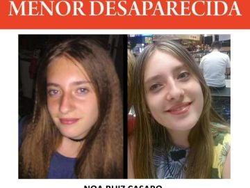La menor desaparecida en Girona