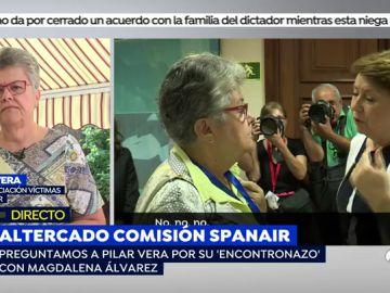 """Pilar Vera: """"Magdalena Álvarez cargará con los 154 muertos de Spanair para el resto de su vida"""""""