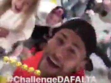 Neymar 'imita' su challenge