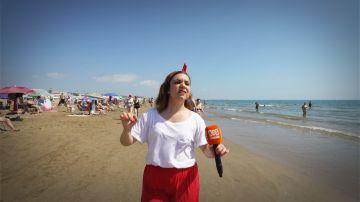 'La chica de las series' se va a la playa