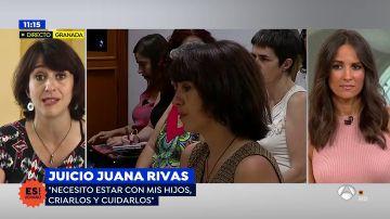 """Juana Rivas: """"Por ser su padre genéticamente mi exmarido no tiene derecho a machacar a mis hijos"""""""